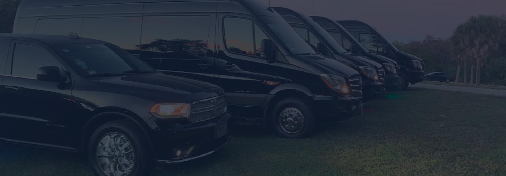 Dreamride luxury transportation fleet fort Lauderdale