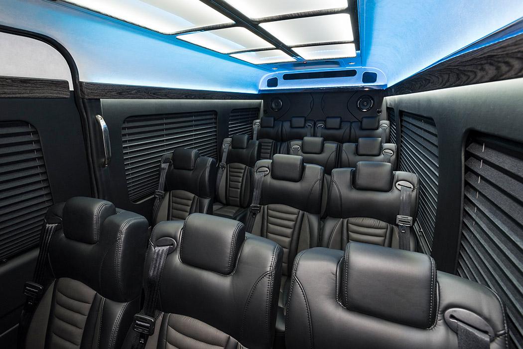 Mercedes Sprinter Luxury Vip Executive Edition